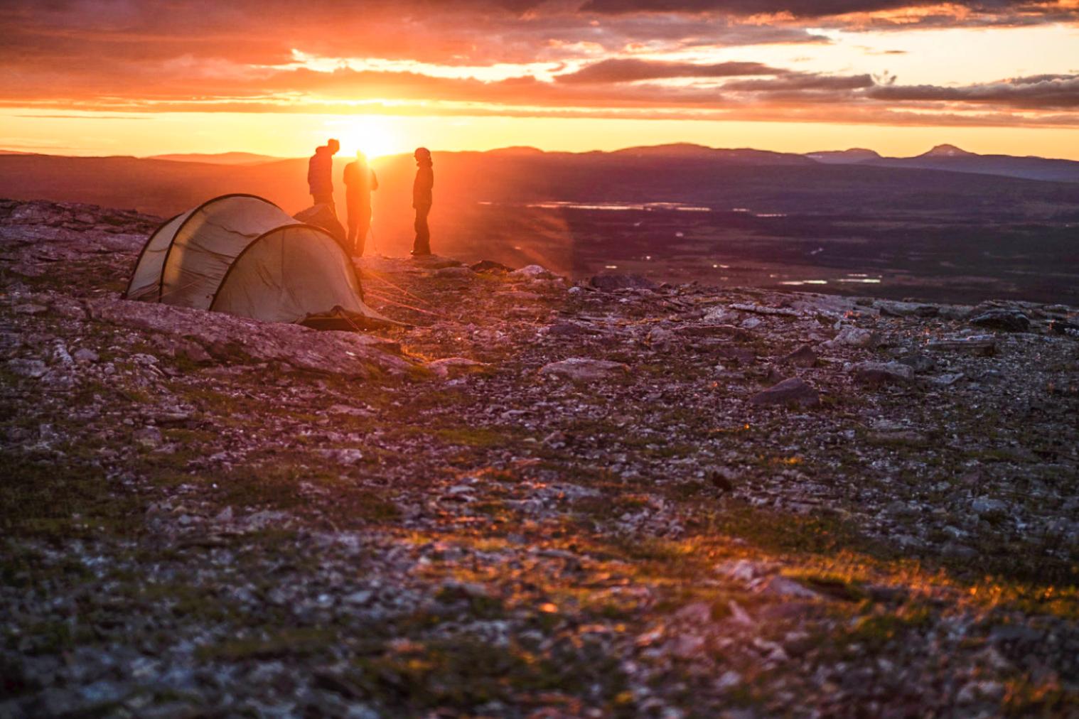 Jämtlandstriangeln med guide 29 juli-2 augusti